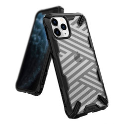 Husa iPhone 11 Pro Max Ringke Fusion X - Stripe Black