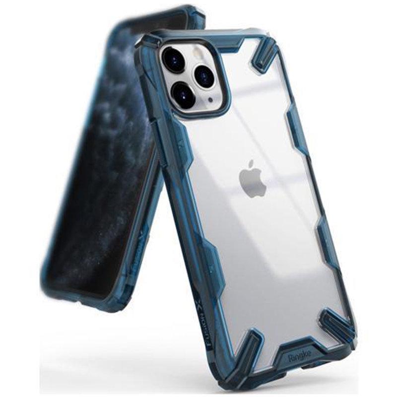 Husa iPhone 11 Pro Max Ringke Fusion X - Space Blue