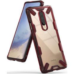 Husa OnePlus 7 Pro Ringke Fusion X - Ruby Red