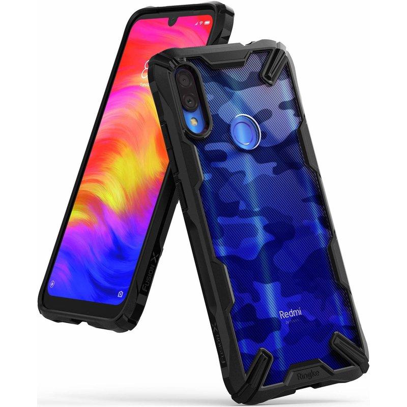 Husa Xiaomi Redmi Note 7 Ringke Fusion X - Camo Black
