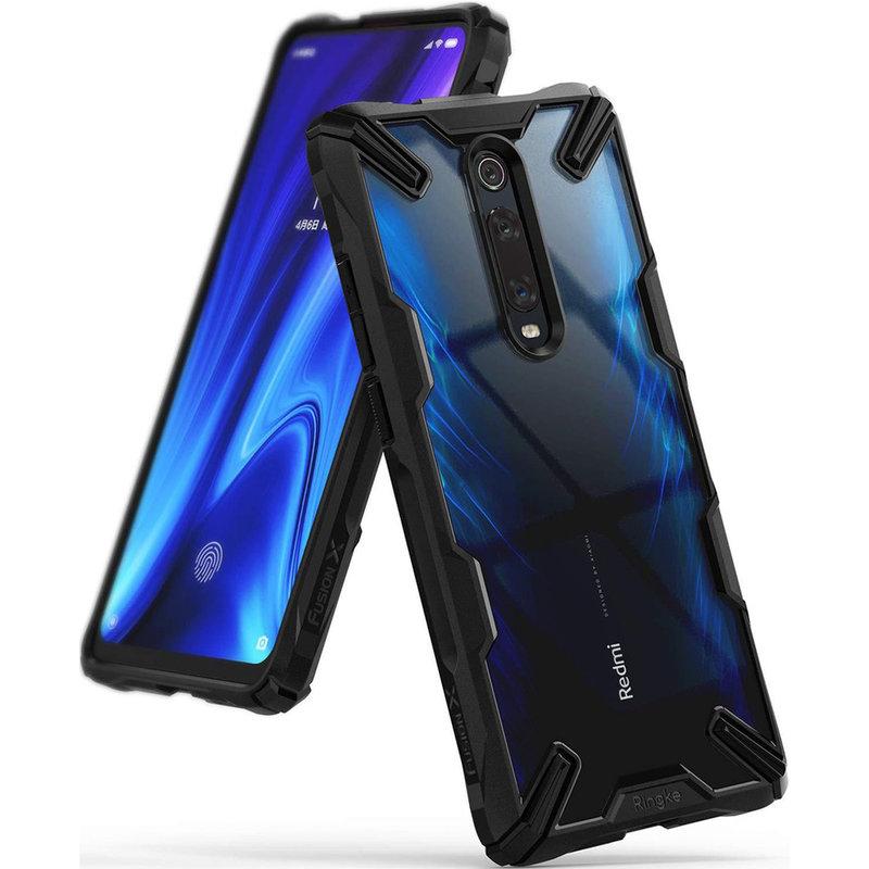 Husa Xiaomi Mi 9T Ringke Fusion X - Black
