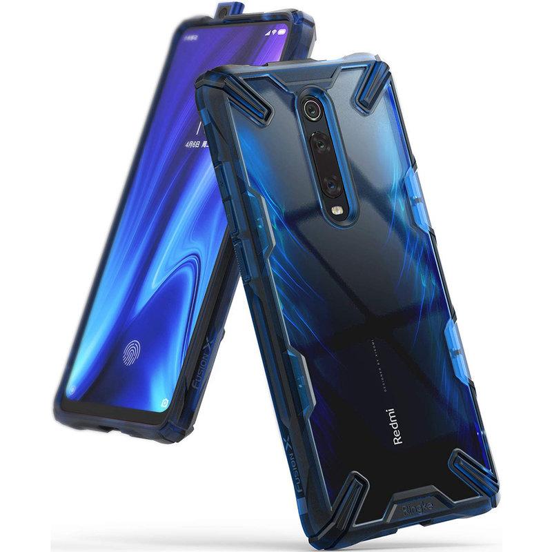 Husa Xiaomi Mi 9T Pro Ringke Fusion X - Space Blue