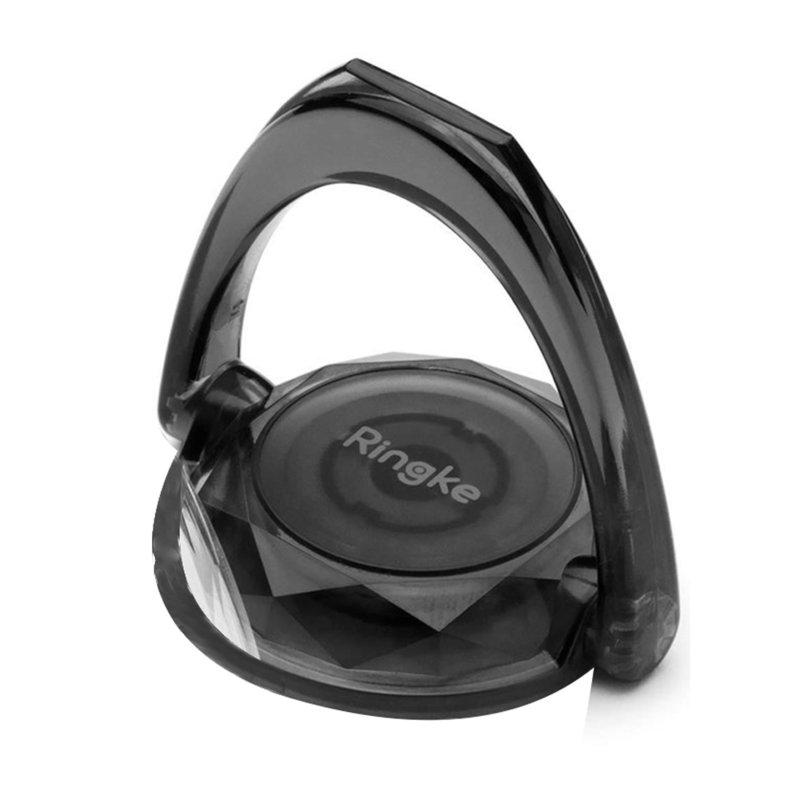 Suport iRing Telefon/Tableta Ringke Prism Ring - Smoke Black