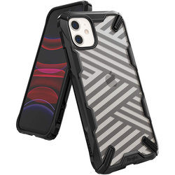 Husa iPhone 11 Ringke Fusion X - Stripe Black