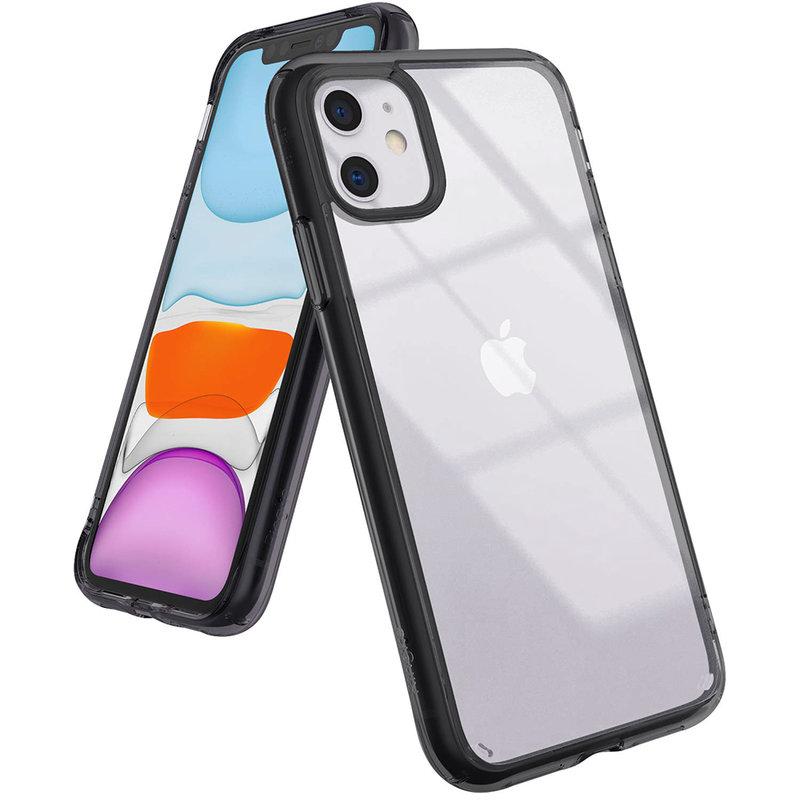 Husa iPhone 11 Ringke Fusion - Smoke Black