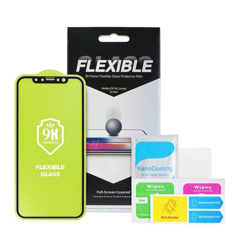 Folie Huawei Mate 30 Nano Flexible Glass Full-Screen 9H - Negru
