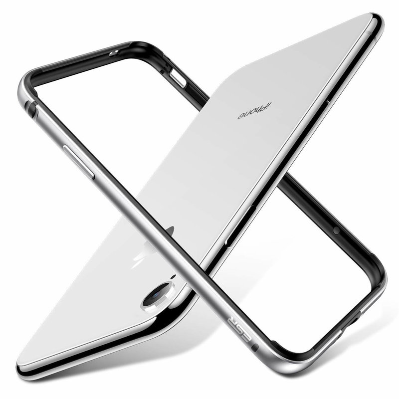 Bumper iPhone 11 ESR Edge Guard - Argintiu