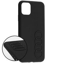 Bumper iPhone 11 Pro Max Audi - TPUPCIP11M-TT/D1-BK - Negru