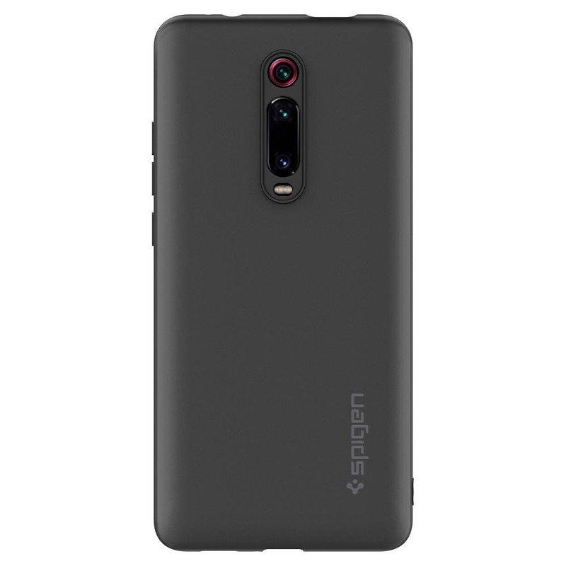 Husa Xiaomi Mi 9T Spigen Silicone Fit - Charcoal