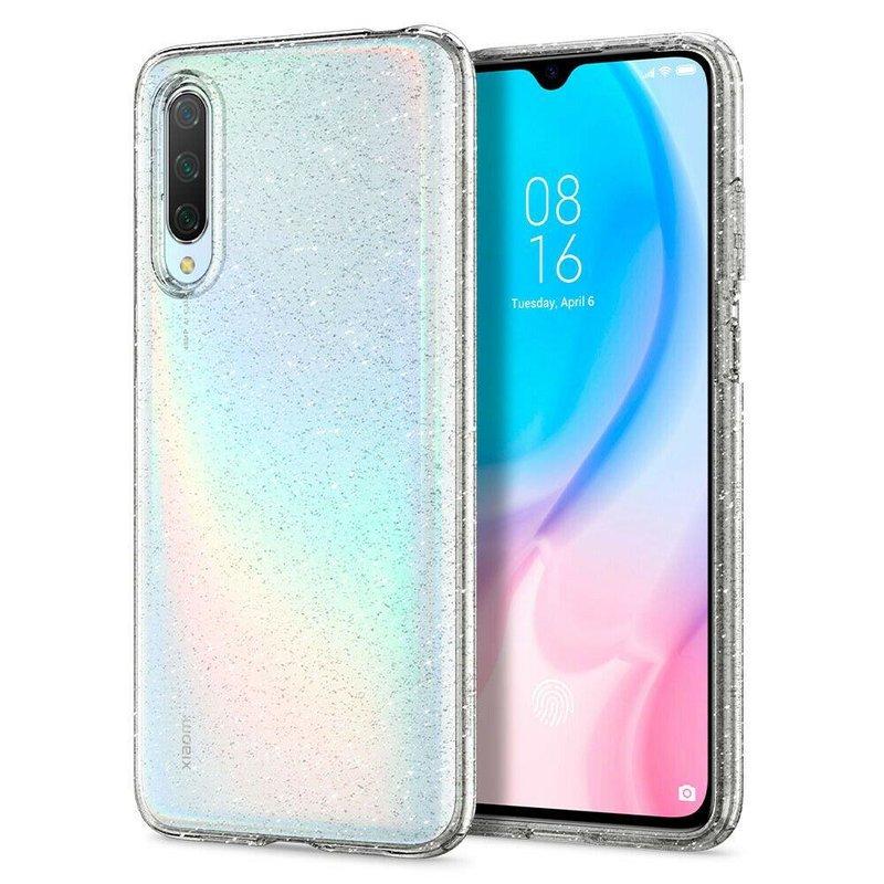 Husa Xiaomi Mi A3 / Mi CC9e Spigen Liquid Crystal Glitter - Crystal Quartz