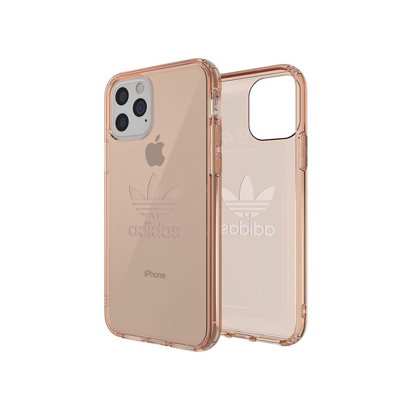 Husa iPhone 11 Pro Max Adidas Protective Clear - EV7915 - Rose Gold
