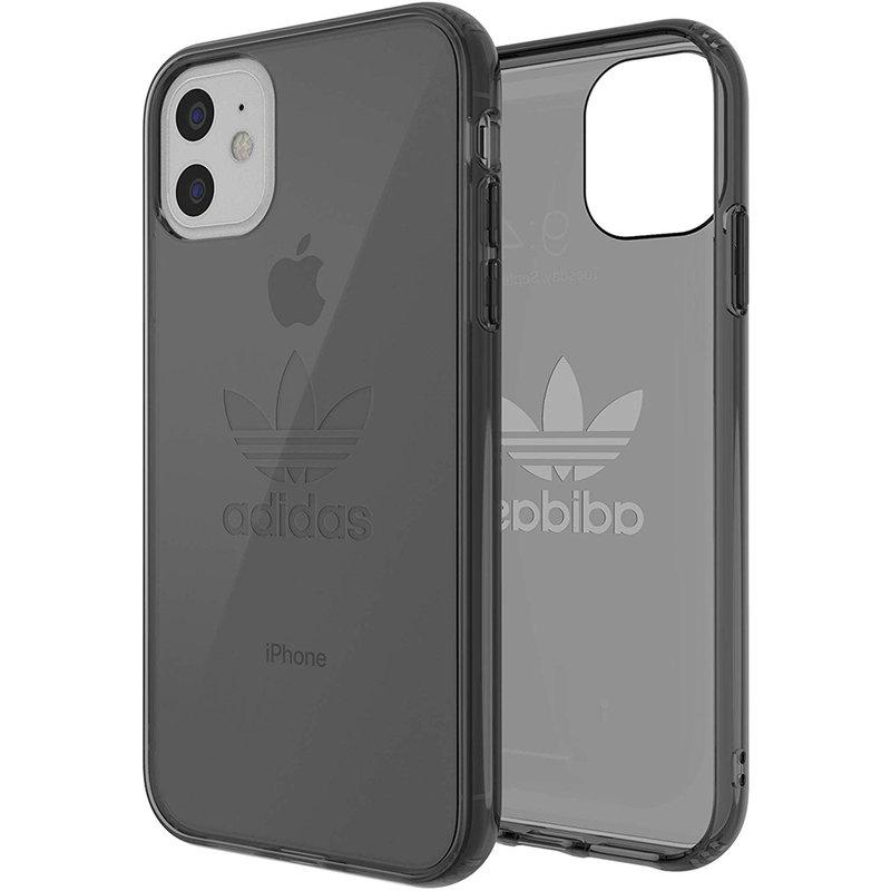 Husa iPhone 11 Adidas Protective Clear - EV7947 - Gunmetal