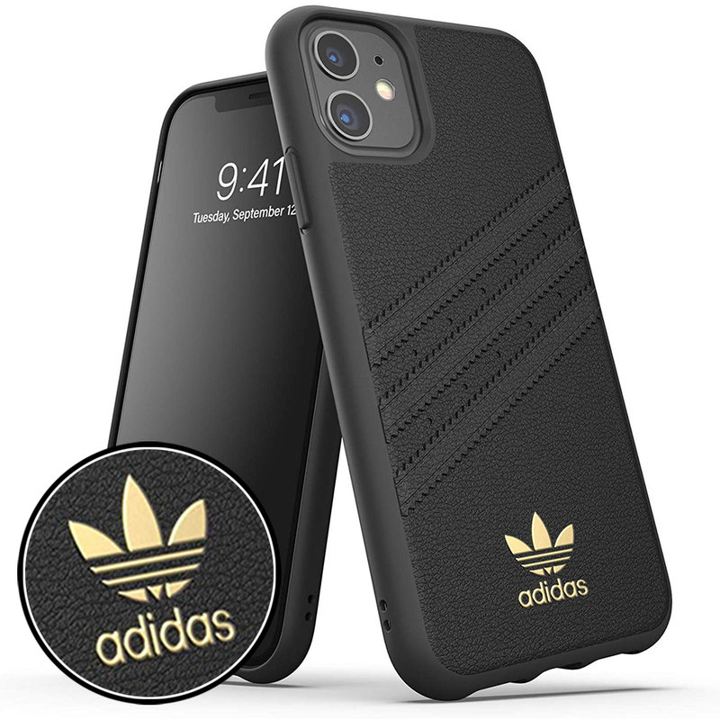 Bumper iPhone 11 Adidas 3 Stripes - Dark Black