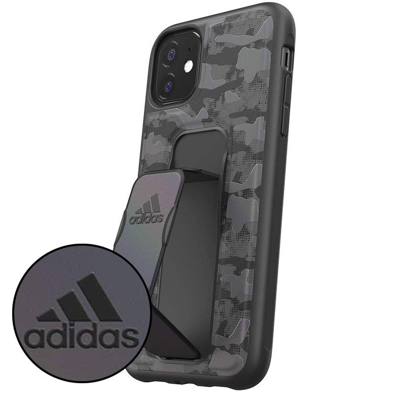 Bumper iPhone 11 Adidas Grip - Camo Blue
