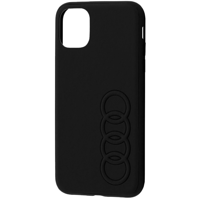 Bumper iPhone 11 Audi - TPUPCIP11R-TT/D1-BK - Negru