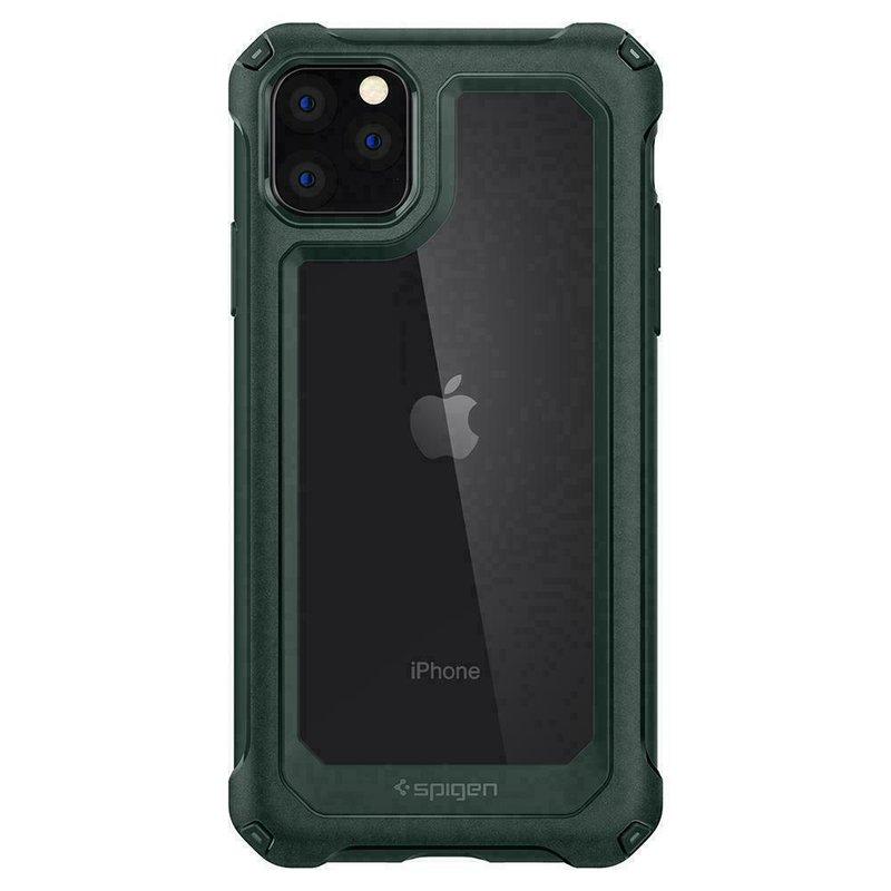 Husa Telefon iPhone 11 Pro Max Spigen Gauntlet - Hunter Green