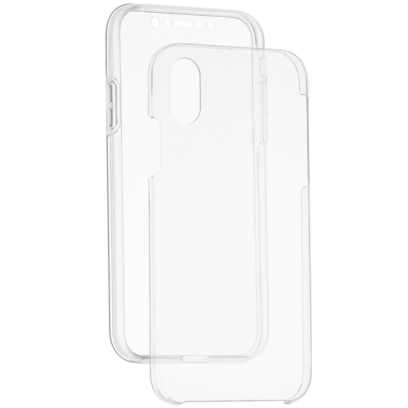 Husa iPhone XS TPU UltraSlim 360 Transparent