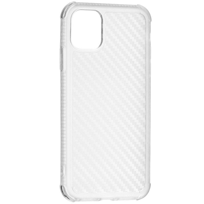 Husa iPhone 11 Roar Carbon Armor - Transparent