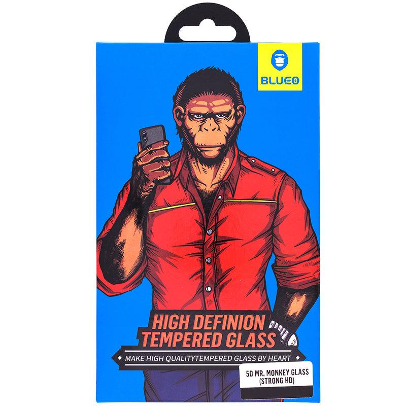 Sticla Securizata 5D iPhone 11 Mr. Monkey - Narrow Black Border