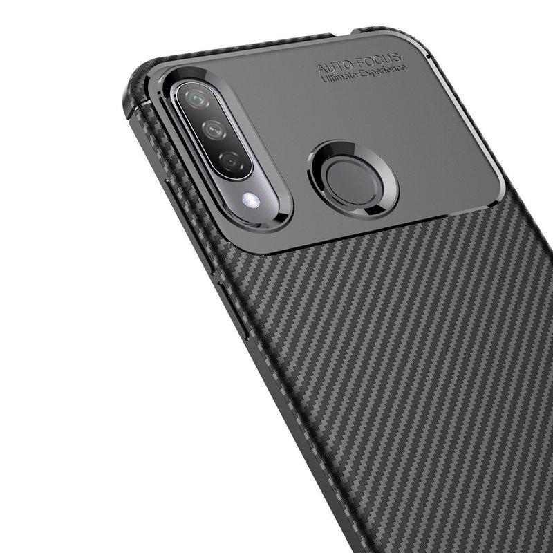 Husa LG W30 Mobster Carbon Skin Negru