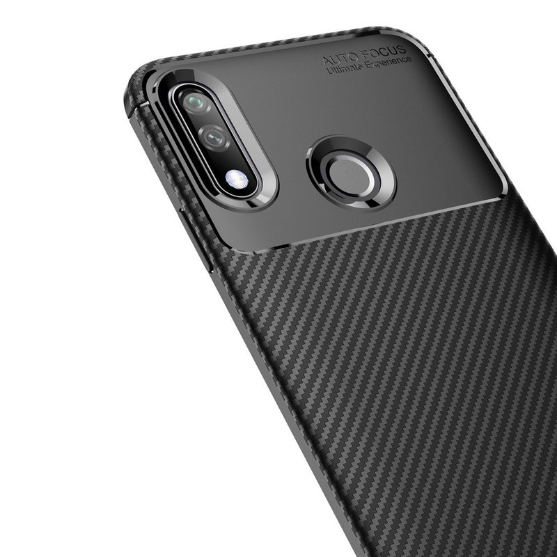 Husa LG W10 Mobster Carbon Skin Negru