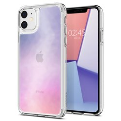 Husa iPhone 11 Spigen Crystal Hybrid Quartz - Gradation