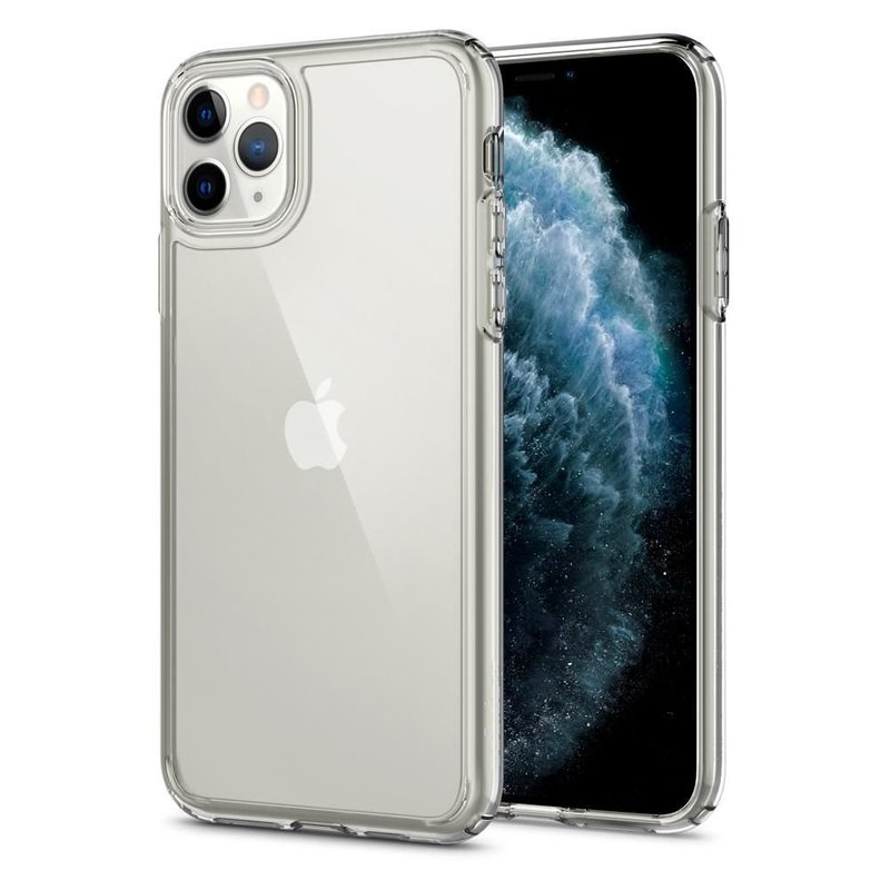 Bumper Spigen iPhone 11 Pro Max Crystal Hybrid - Crystal Clear