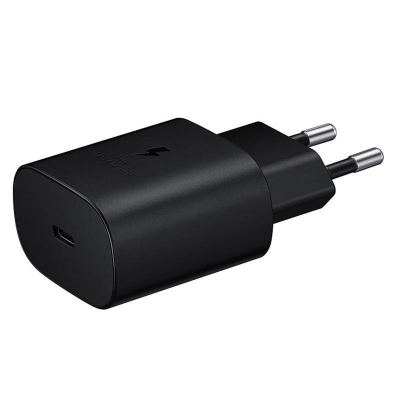 Incarcator Priza Original Samsung Bulk Type-C EP-TA800EBE + Cablu Type-C - EP-DA705BBE - Black