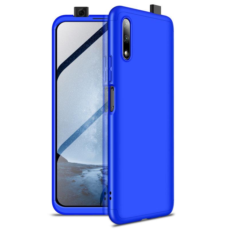 Husa Huawei Honor 9X Pro GKK 360 Full Cover Albastru