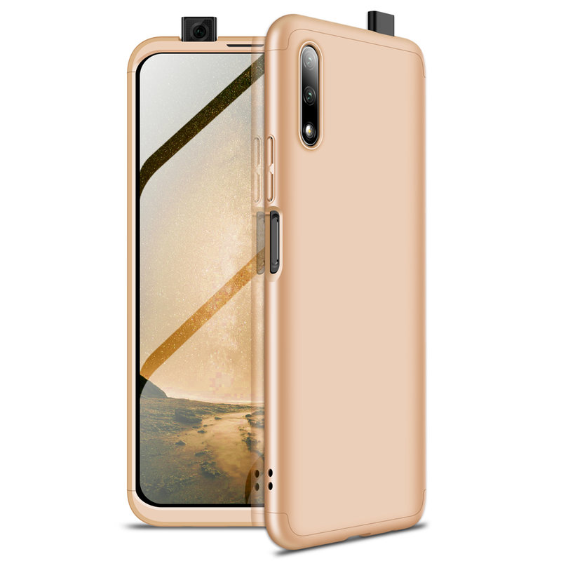 Husa Huawei Honor 9X Pro GKK 360 Full Cover Auriu