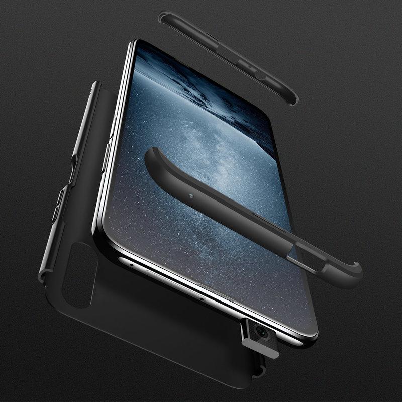 Husa Huawei Honor 9X GKK 360 Full Cover Negru
