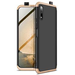 Husa Huawei Honor 9X Pro GKK 360 Full Cover Negru-Auriu