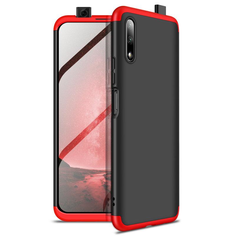 Husa Huawei Honor 9X Pro GKK 360 Full Cover Negru-Rosu
