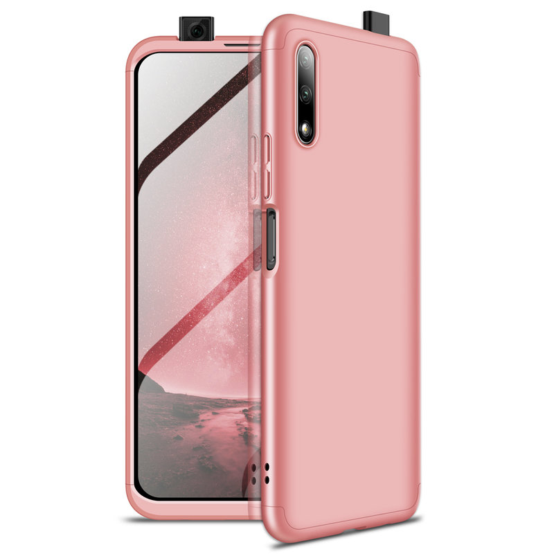 Husa Huawei Honor 9X Pro GKK 360 Full Cover Roz