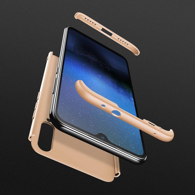 Husa Xiaomi Mi A3 / Mi CC9e GKK 360 Full Cover Auriu
