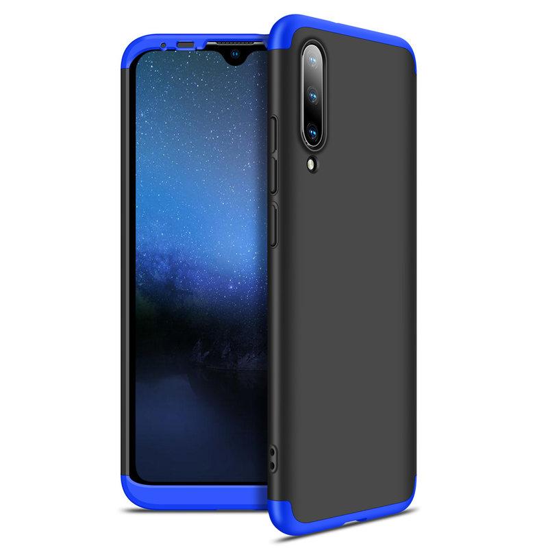 Husa Xiaomi Mi A3 / Mi CC9e GKK 360 Full Cover Negru-Albastru