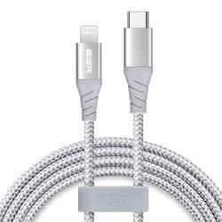 Cablu De Date ESR Premium Fast Charging Type-C To Lightning 1M - ECL8 - Argintiu