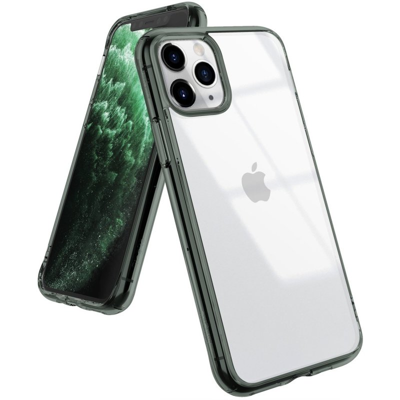 Husa iPhone 11 Pro Max Ringke Fusion - Pine Green