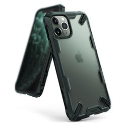 Husa iPhone 11 Pro Max Ringke Fusion X - Dark Green