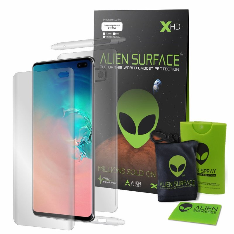 Folie 360° Xiaomi Redmi Note 8 Pro Alien Surface XHD, Ecran, Spate, Laterale - Clear