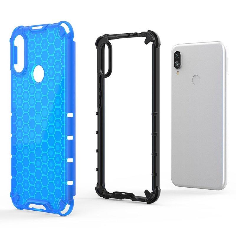Husa Xiaomi Redmi Note 7 Honeycomb Armor - Albastru