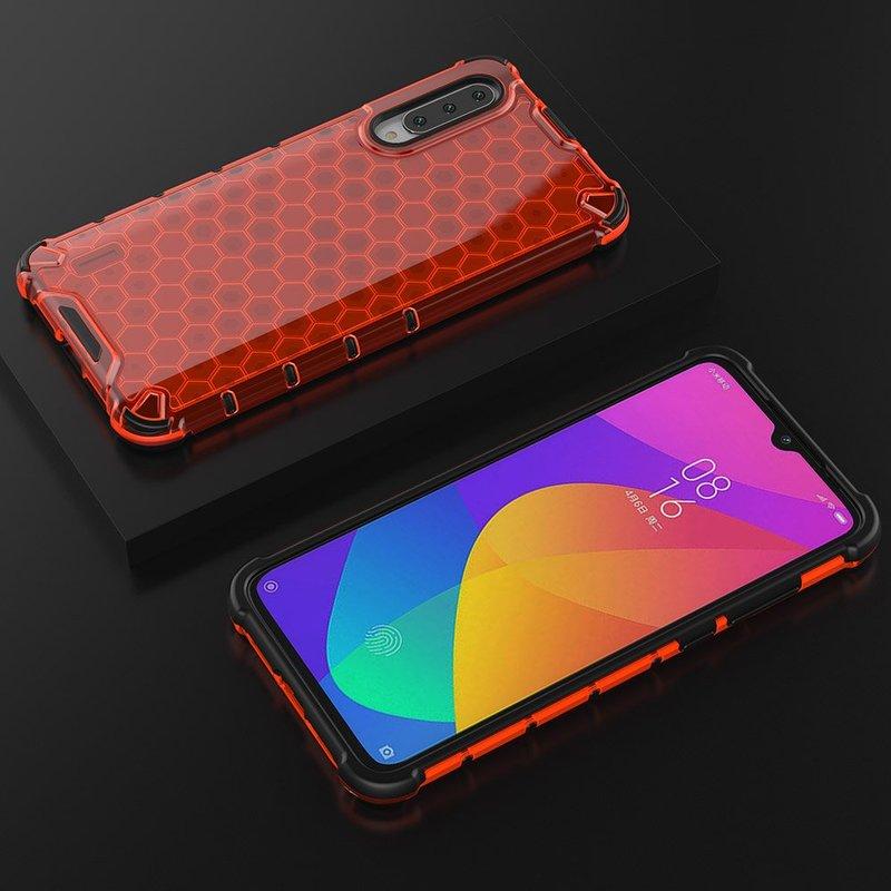 Husa Xiaomi Mi A3 / Mi CC9e Honeycomb Armor - Rosu