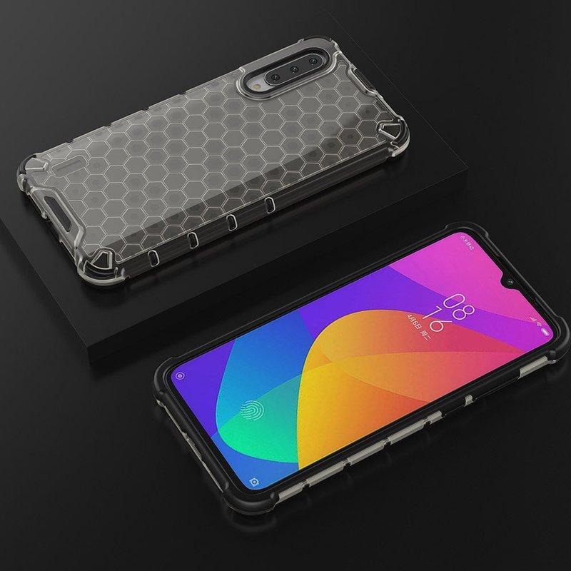 Husa Xiaomi Mi A3 / Mi CC9e Honeycomb Armor - Negru
