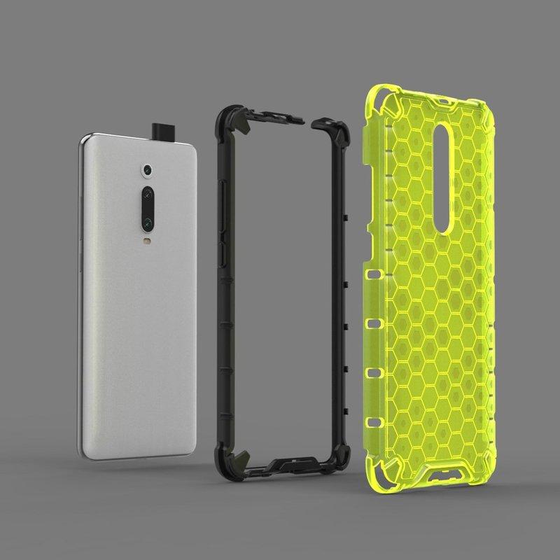 Husa Xiaomi Mi 9T Pro Honeycomb Armor - Verde