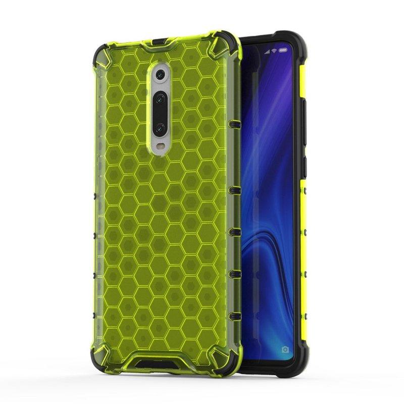 Husa Xiaomi Mi 9T Honeycomb Armor - Verde