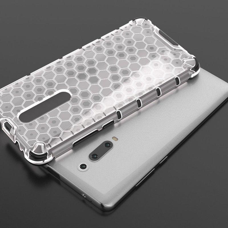 Husa Xiaomi Mi 9T Honeycomb Armor - Transparent