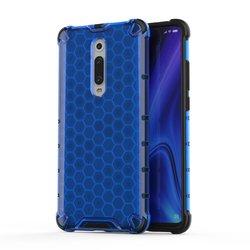 Husa Xiaomi Mi 9T Honeycomb Armor - Albastru