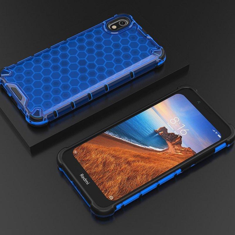 Husa Xiaomi Redmi 7A Honeycomb Armor - Albastru