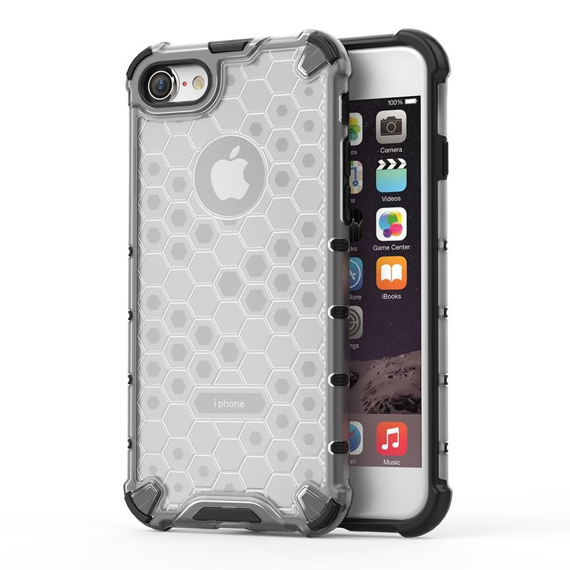 Husa iPhone 7 Honeycomb Armor - Transparent