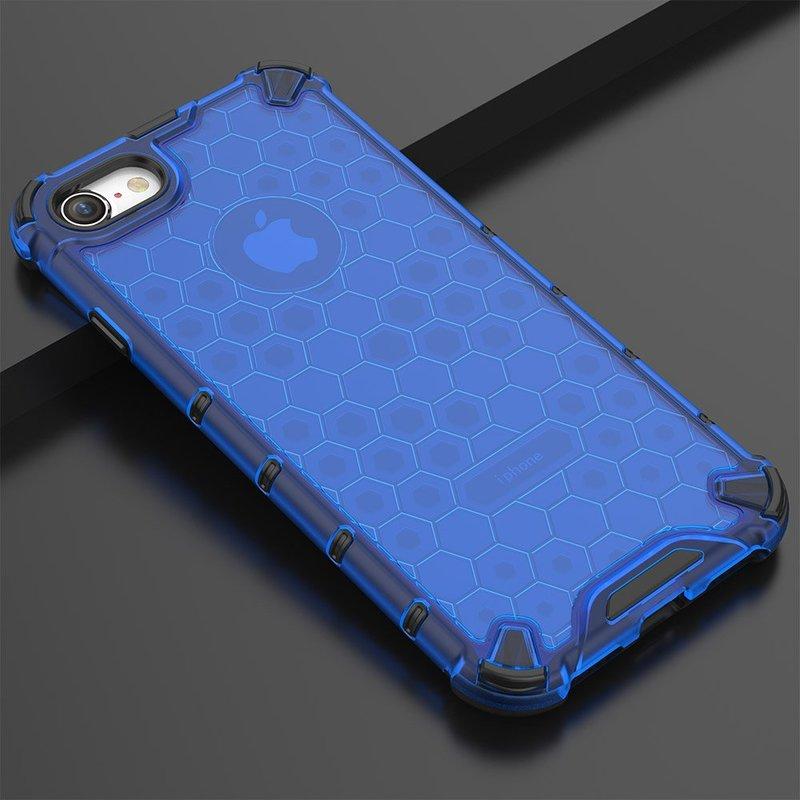 Husa iPhone 7 Honeycomb Armor - Albastru